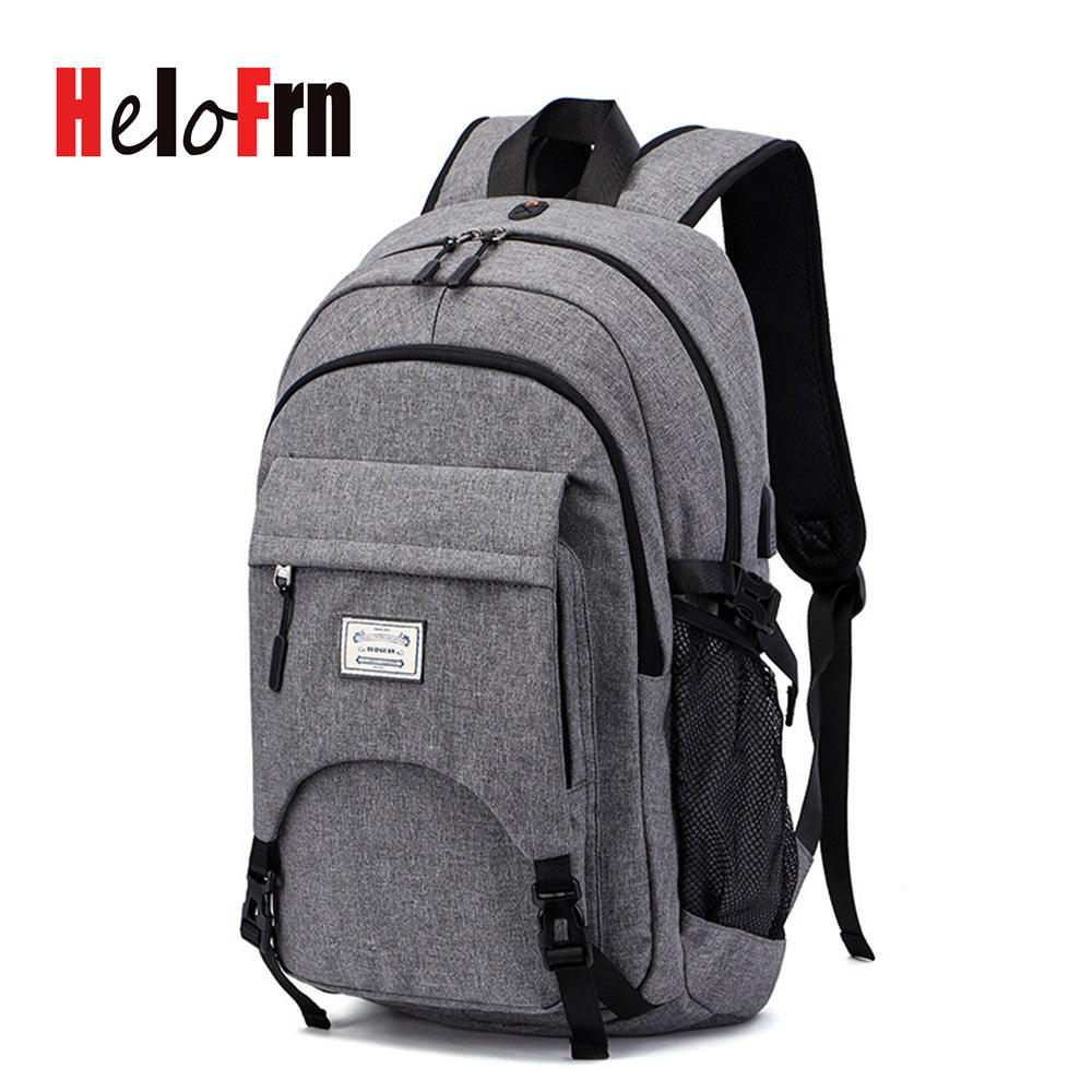 HeloFrn Sport Backpack Men Basketball USB Charging Canvas Backpack For 15.6 Laptop Teenager Male Football Bags Large CapacityHeloFrn Sport Backpack Men Basketball USB Charging Canvas Backpack For 15.6 Laptop Teenager Male Football Bags Large Capacity