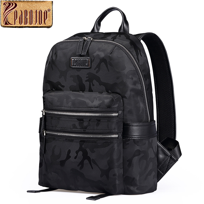 Pabojoe Mens Women Backpack Waterproof Rucksack School Shoulder Bag for Young Boy Casual Laptop Travel Holder pabojoe women mens school backpack italian 100