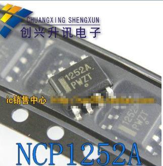 1pcs/lot NCP1252 NCP1252A NCP1252ADR2G SOP-8