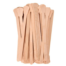 50Pcs Wooden Disposable Bamboo Sticks Waxing Wax Spatula Tongue Hair Removal Cream Stick For Waxing Body Hair Care