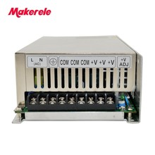 цена на customized single output type switching power supply from china factory 13.5v 500w S-500-13.5 36A  similar to Taiwan