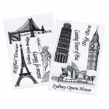 1Pc Scrapbook DIY Photo Cards Account Rubber Stamp