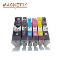 6X PGI470 CLI471 cartucho de tinta compatible para Canon ts5040 Pixma MG5740 MG6840 MG7740 cartuchos de tinta de impresora PGI 470 CLI 471