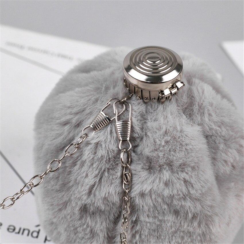 62b496b2b6 TOYOOSKY 2018 Hot Sale Fashion Mini Women Chain Messenger Bags Faux Fur  Perfume Bottle Ladies Crossbody Bag Bucket Clutch Bag-in Shoulder Bags from  Luggage ...