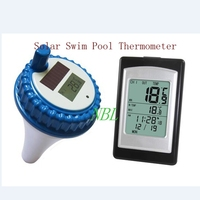 Professional Digital Wireless Swimming Pool Thermometer SPA Floating Temperature Meter With 3 Channels/Time Alarm/Calendar