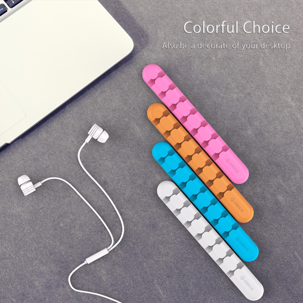 ORICO-Cable-Managemen-Earphone-Cable-Organizer-Wire-Storage-Silicon-Charger-Cable-Holder-Clips-for-MP3-MP4 (3)