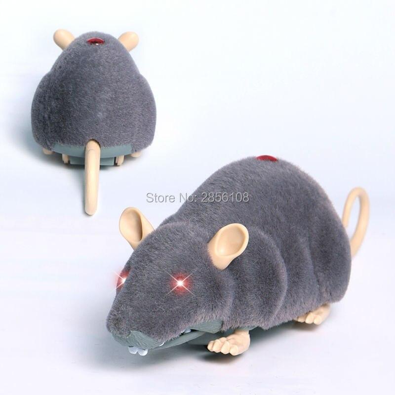 Brinquedo do gato controle remoto infravermelho mouse