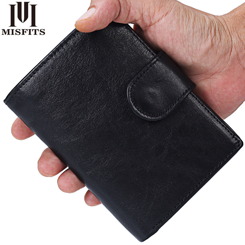 2018 New Genuine Leather Mens Wallet short Man Cowhide Cover Coin Purse Small Brand Male Credit&id Multifunctional Walets etya men s wallet genuine leather short man folding cowhide wallet male multifunctional credit id card coin purse money bag