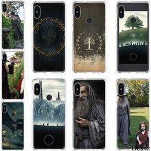 Desxz Silicon TPU Case for Xiaomi Mi 6 8 Lite SE A1 A2 5X 6X 2S F1 Lord Of The Rings Hobbit Gandalf Shell Cover(China)