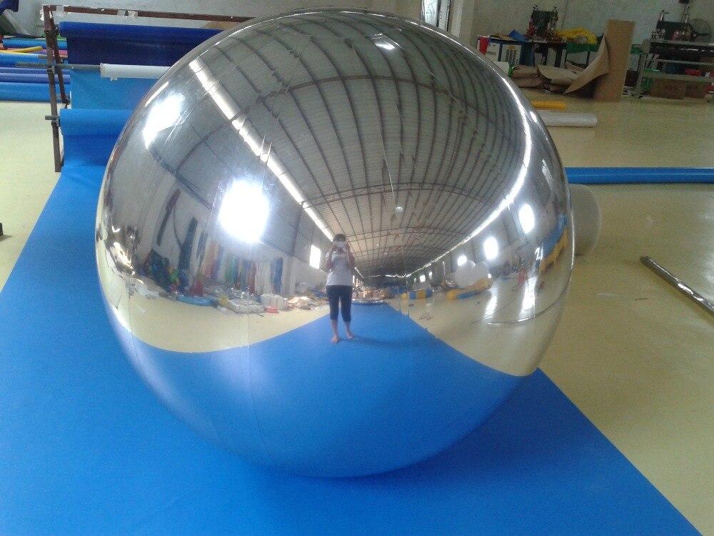 Boule de miroir Gonflable de 1.8 m pour la publicité Decoretion Ballon Gonflable nouveaux jouets gonflables
