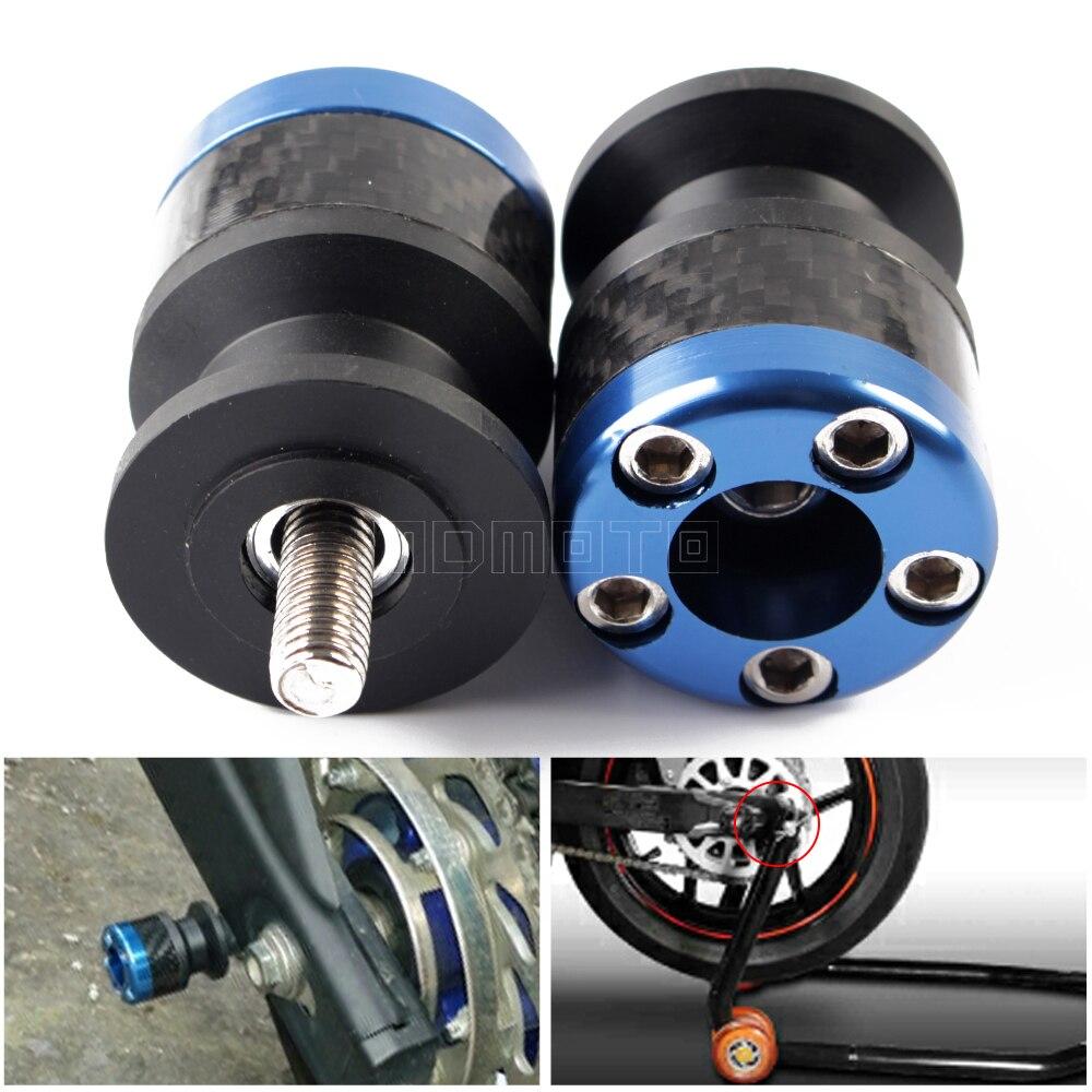 For BMW S1000RR HP4 S1000R S1000XR Swingarm Spools Slider Stand Screws M8 For Kawasaki Zx6r Z1000
