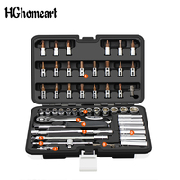HGhomeart Hand Tool Set Socket Wrench Household Tool Auto Repair Mixed Combination Package Multitool Car Repair Tool Set
