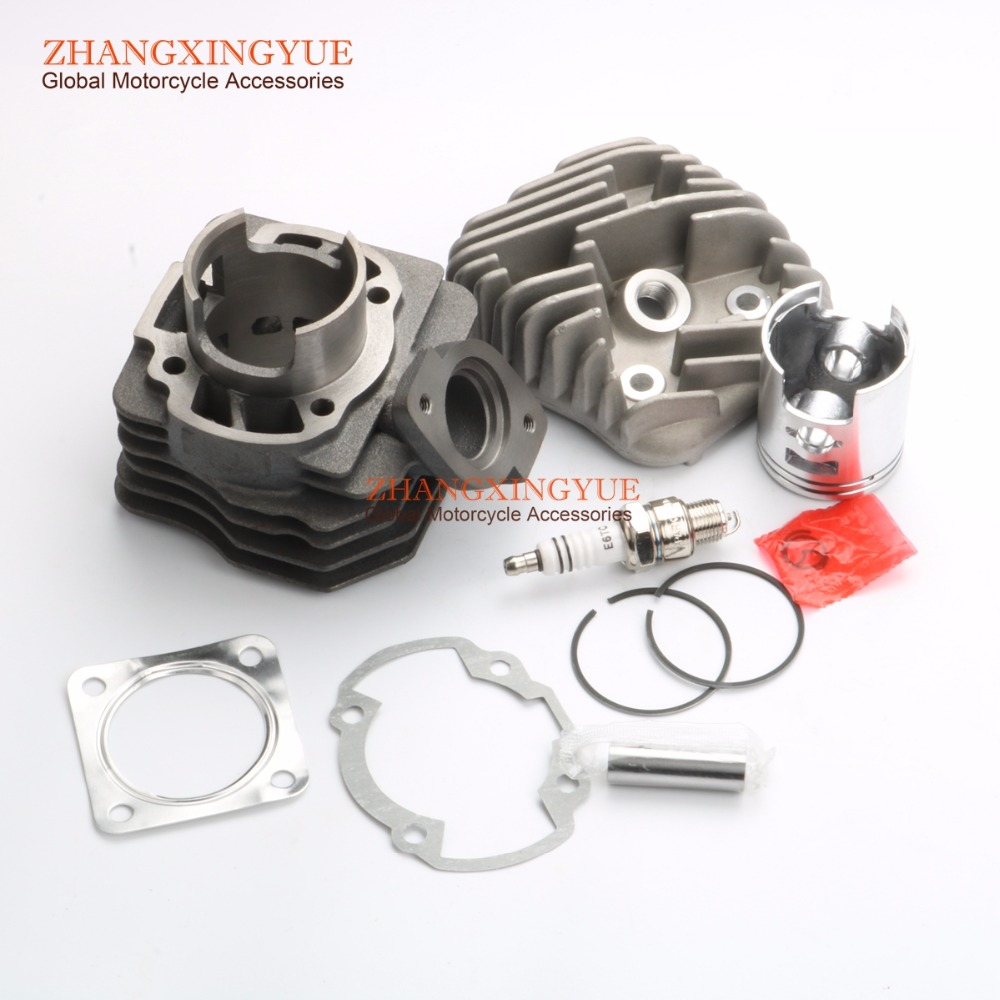 70cc big bore kit Cylinder Set for Honda DIO DIO50 AF18 AF27 AF28 47mm 47mm 10mm 70cc big bore cylinder barrel kit head for aprilia gulliver rally scarabeo sonic sr 50cc