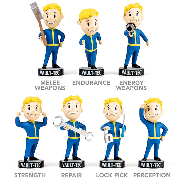 Fallout 4 Vault Boy Gaming Heads Fallout 4 toys Bobbleheads PVC Action Figure toy For Kid birthday gift DOLL brinqudoes ...