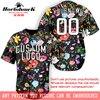 Horlohawk 2017 New Baseball Jersey Custom Embroidery Name Number Logo US Size Men S High Quality