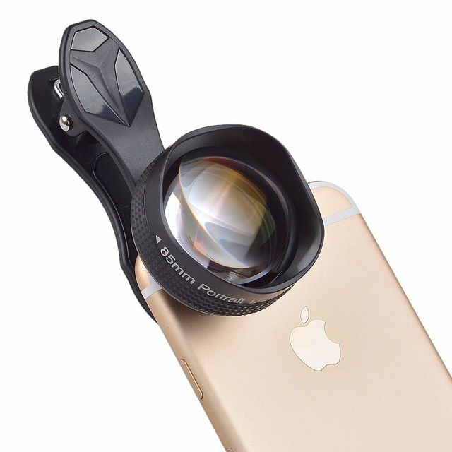 hot sales 0d34d 77a6f US $19.99  APEXEL 85mm Portrait Lens 3X HD Telephoto Lens Professional  Mobile Phone Camera Lens for iPhone Samsung Android Smartphone -in Mobile  Phone ...