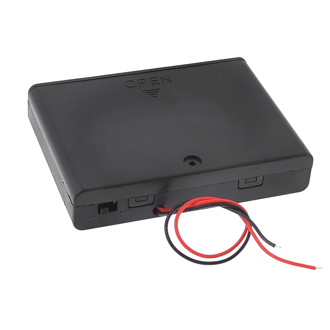 EDT-Spring <font><b>Clip</b></font> 6&#215;1.5V AA <font><b>Battery</b></font> Holder Storage Case ON/OFF Switch with Cap