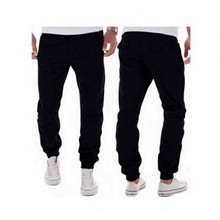 2016 Brand clothes Men Pants mens joggers Casual pants Sweatpants vogue Trousers cotton males's pants black CYCK5060