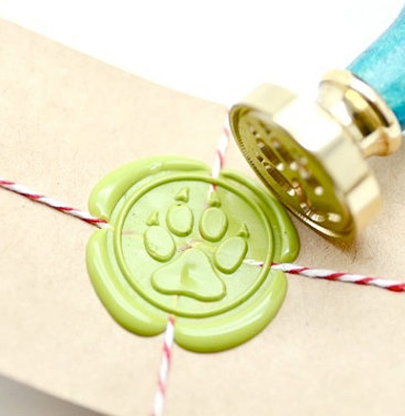 Wedding Gifts For Dog Lovers: Paw Claw Wax Seal Stamp, Sealing Wax For Wedding, Gift For