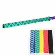 5 цветов 100 см Sweatband Нескользящая термоусадочные трубки ручка для рыболовной удочки сцепление стильные рубашки-поло для гольфа и тенниса, ракетка для игры в оборудование для создания Ручка 30/35 мм Dia