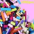 1000 unids + Basic Building Blocks Classic 14 Forma Compatible con legoed lepin Ladrillos Muchacha Niño Niña Regalo Envío Placa Base