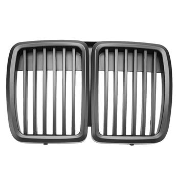 1pc Front Kidney Matte Black Grill Grilles Styling Accessory for BMW E30 318 320 325 1982-1994 Auto Vehicle Part image