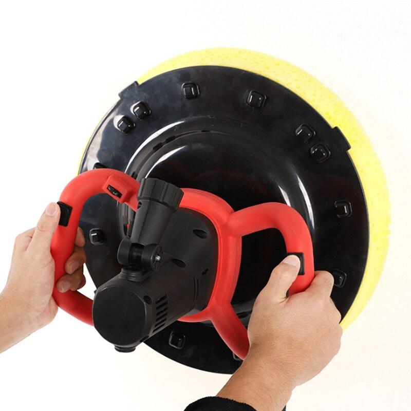 2 In 1 1680W Electric Cement Mortar Trowel Paint Coating Mixer 6 Speeds Adjustable Electric Cement Mixer Power Tools