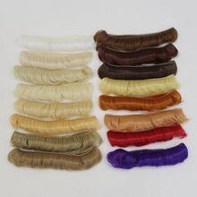 Tresses Doll Wig 5*100cm DIY Hair Bangs Mini Fringe High-Temperature Material For BJD Accessories