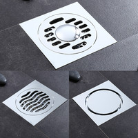 ITAS1113 Bathroom drains copper deodorization type common floor drain and for washing machine invisibility
