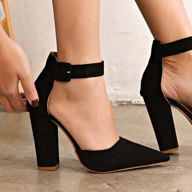 Srqcdth Heels Helels Wedding For Shoes Strap Ankle Women Pumps PuTkZlXOiw