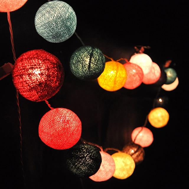 String Light 20 LED 250cm Christmas / Wedding / Party Tree Decoration Lights AC 110V 220V outdoor LED Lamp 20W