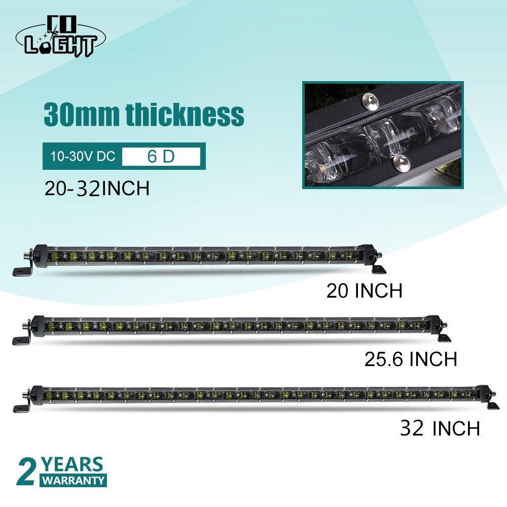 CO lumière Led lampe de travail 12 V Offroad 90 120 150 W 20 pouces 24 V barre de Led Combo pour Lada Niva Kalina Granta Nissan accessoires tout-terrain