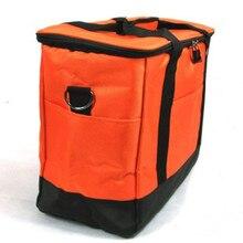 KUNDUI suitcase Cheap Large Volume Color Thermal Cooler Bag Fashion valiz 2-layers Picnic bag w/ liner aluminum foil Food Bags