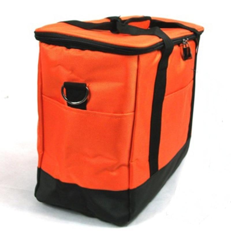 KUNDUI valise pas cher grand Volume couleur sac isotherme thermique mode valiz 2 couches sac de pique-nique avec doublure papier d'aluminium sacs alimentaires