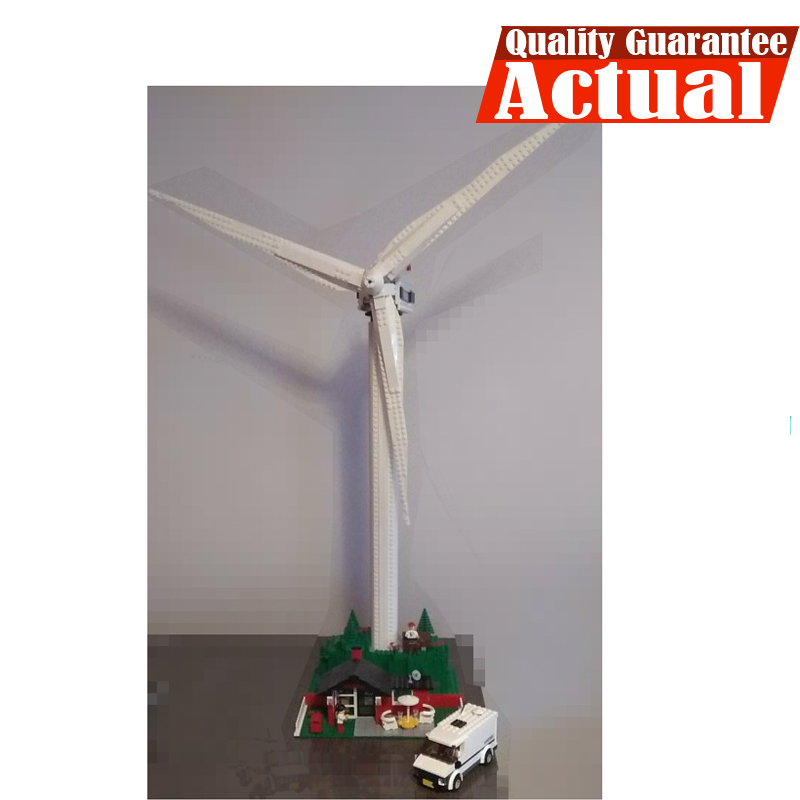 Lepin 37001 837pcs Creative Series The Vestas Windmill Turbine Children Educational Building Blocks Bricks Toys Model Gifts 4999 lepin 37001 creative series the vestas windmill turbine set children educational building blocks bricks toys model for gift 4999
