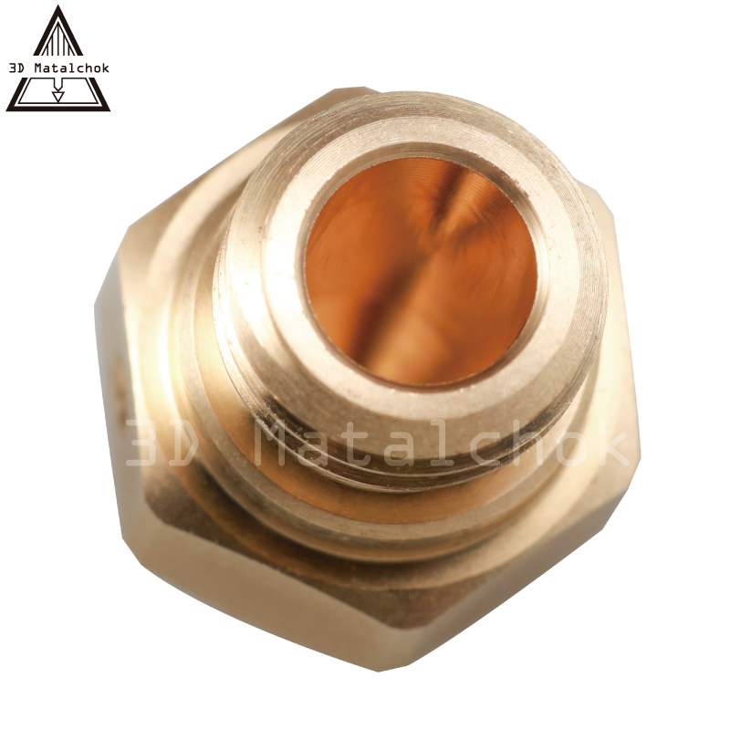 3D Matalchok High precision 1pcs 3D printer M7 Brass Copper MK10 Nozzle for FlashForge Creator Pro Wanhao D4 and I3 Dreme in 3D Printer Parts Accessories from Computer Office