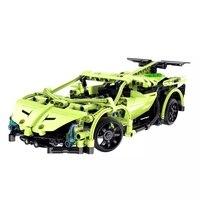 Compatible With Legoingly MOC Technic Series Sword Sportcar RC Kit Model Building Blocks Bricks Remote Control Toys For Children