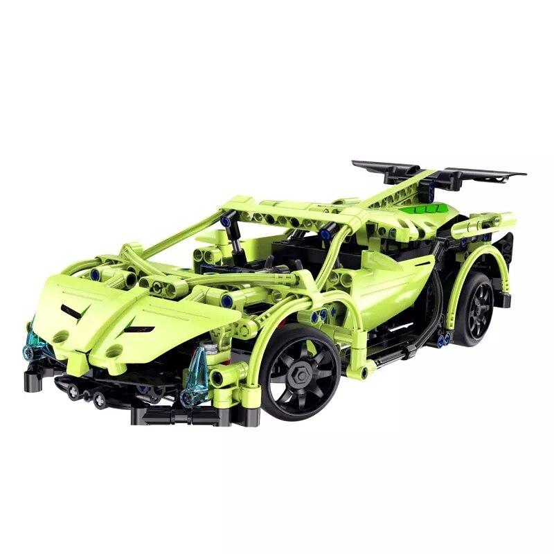 Compatible avec les blocs de construction de modèle de Kit d'épée Sportcar RC de série de technologie de MOC avec des jouets à télécommande de briques pour des enfants