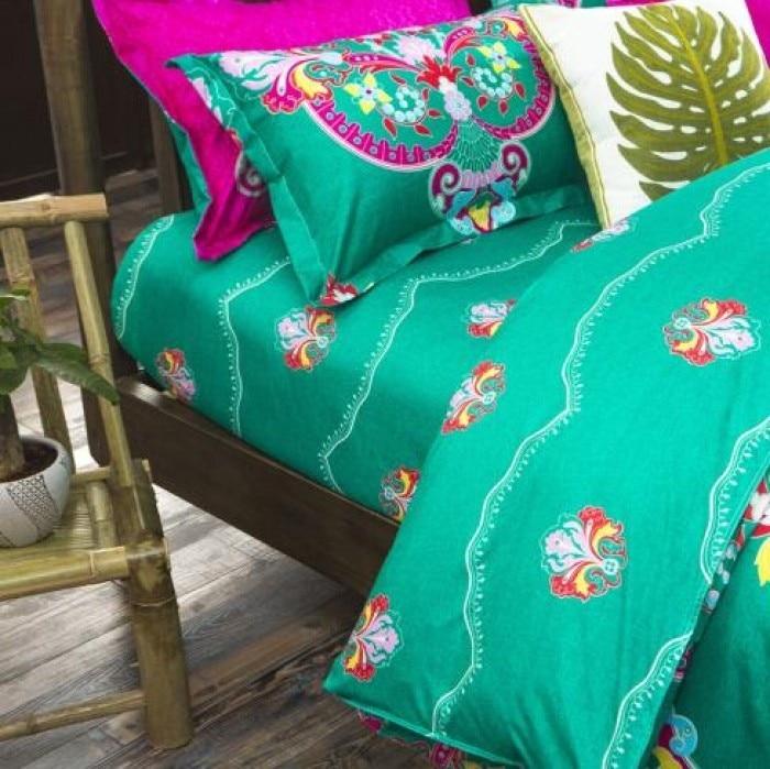 Boho Yataq dəstləri Bohem stilində naxış örtüklü bir - Ev tekstil - Fotoqrafiya 5