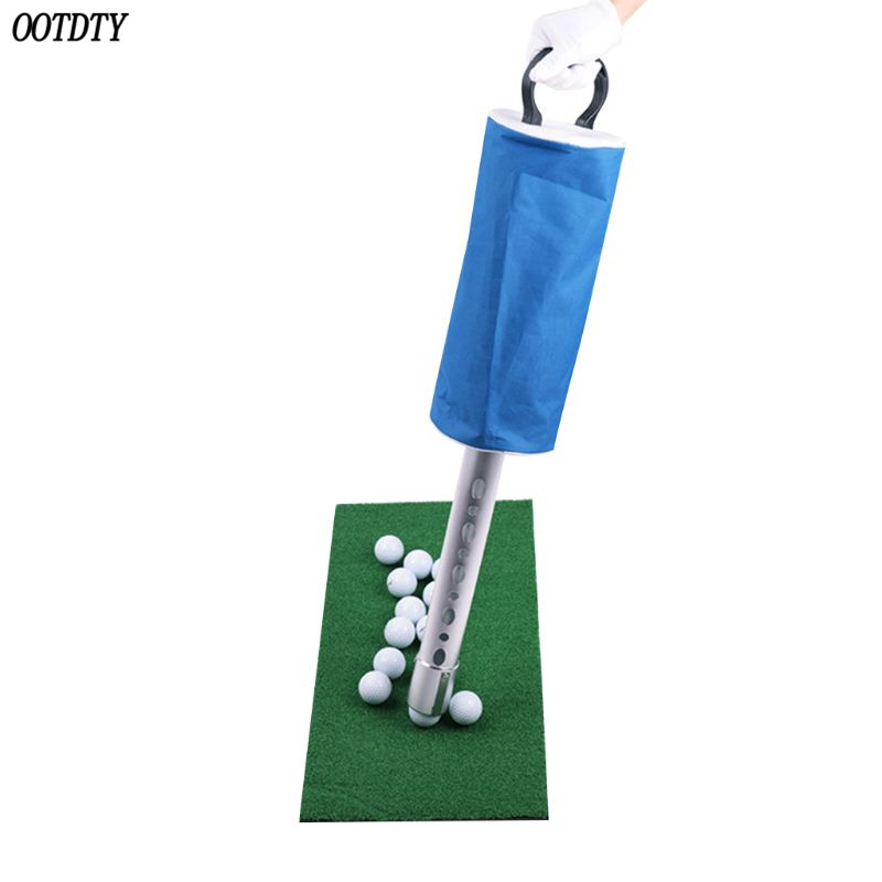 Image 5 - OOTDTY Golf Ball Picker Shag Bag Putter Holder Storage Retriever Portable Ball Catcher Collector-in Golf Training Aids from Sports & Entertainment