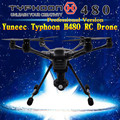 Yuneec Тайфун H профессиональная версия RC Беспилотный Вертолет с realsence камера HD 4 К 3 Aixs 360 Вращение vs DJI Phantom Gimbal 4