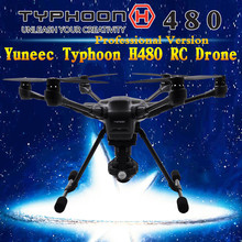 Yuneec Typhoon H professional version RC Drone Helicopter with realsence Camera HD 4K 3Aixs 360 Rotation Gimbal vs DJI Phantom 4