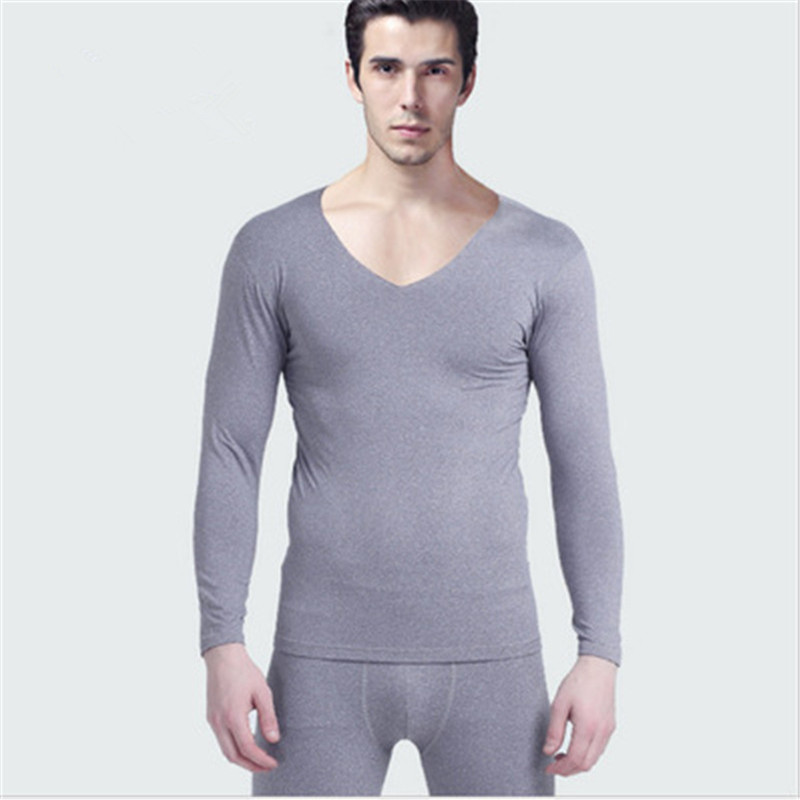 men long johns winter warm cotton cute red gray solid. Black Bedroom Furniture Sets. Home Design Ideas