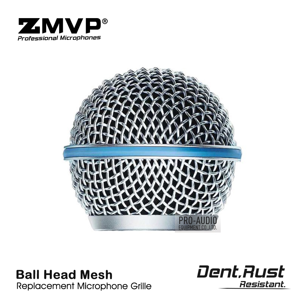 High Quality Replacement Ball Head Mesh Grille For Shure BETA58 BETA58A SM58 SM58S SM58LC Wired Wireless Microphone Accessories