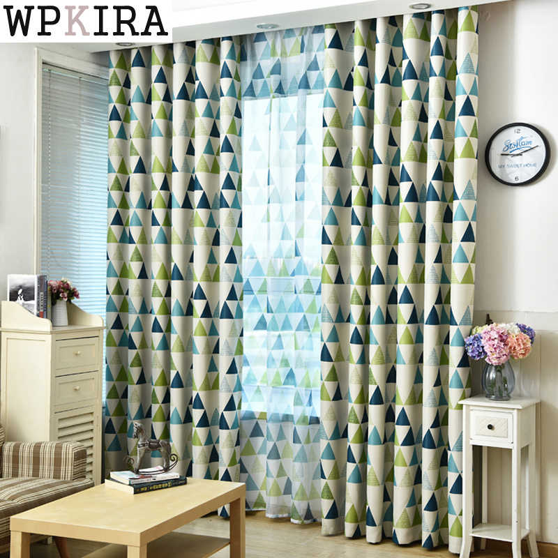 New Arrival Modern Luxury Curtains For Living Room Kitchen Bedroom Window Blackout Kids Sheer Tulle Window Panel Custom 211&20