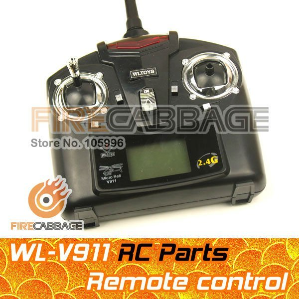 Transmitor RC R/C  for RC Helicopter Gyro V911 for wholesale -- Firecabbage