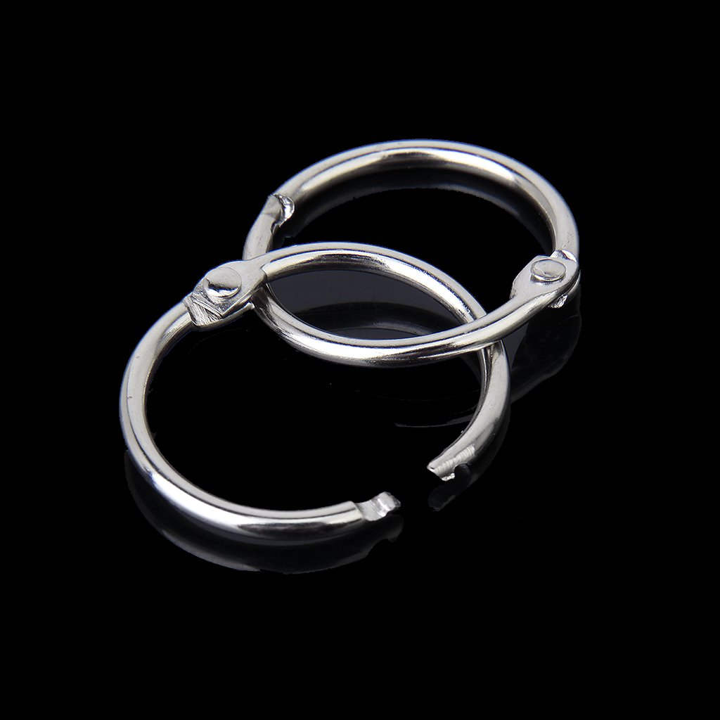 Affordable 10 X Clamp Rings For Scrapbooks Albums - 30mm
