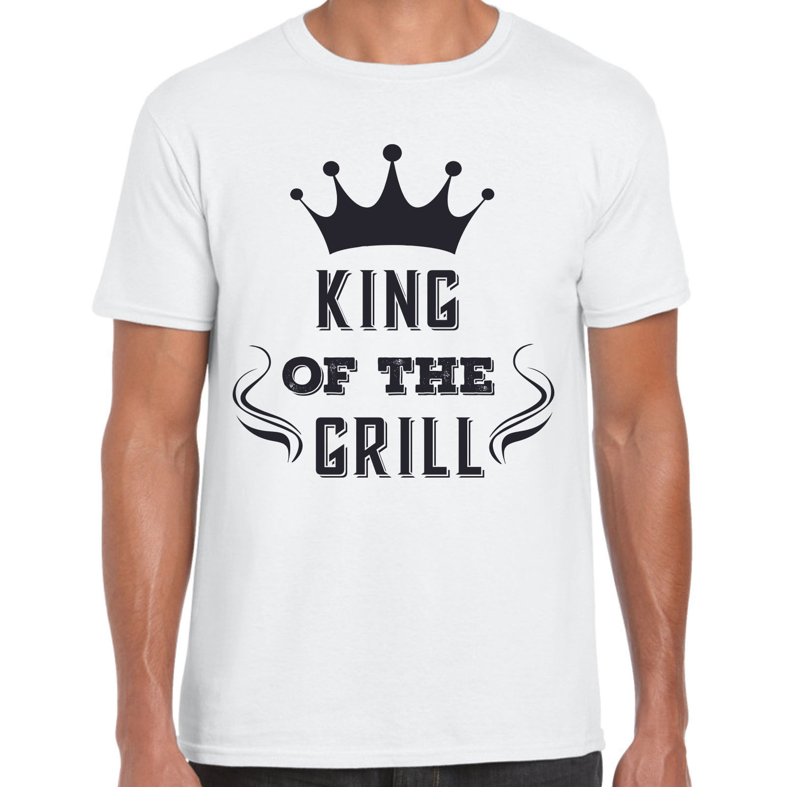 King of the grill - T-shirt pour hommes