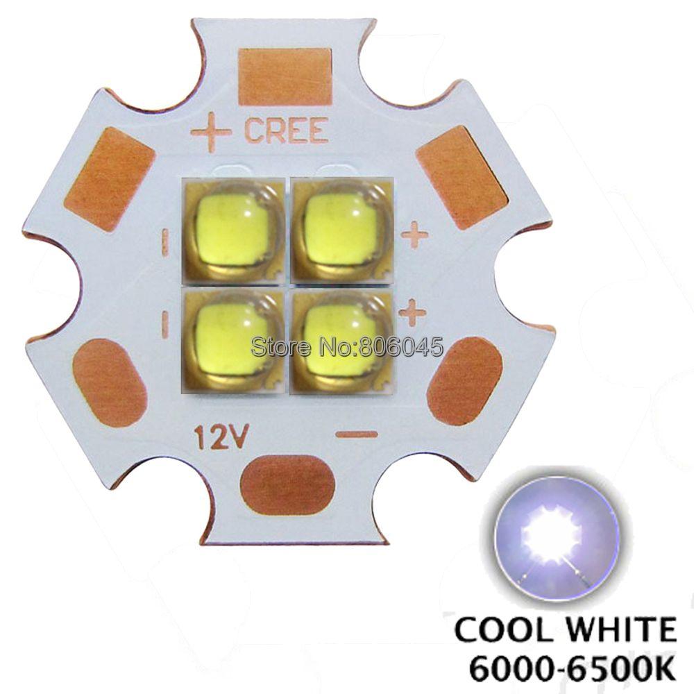 10x 3V / 6V / 12V Epileds 3535 4Chips 4-18W High Power LED Emitter Cool White Warm White on 20mm Copper PCB instead of MKR XHP50 2pcs epileds 7070 uv purple 395nm led emitter lamp light 6 8v light source for diy on 20mm copper pcb board