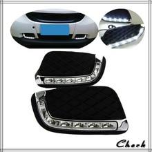 Headlight 2PCS LED DRL Day Light For MercedesBenz Smart Fortwo 2008 – 2011 12V Daytime Running Light Fog Lamp Decoration